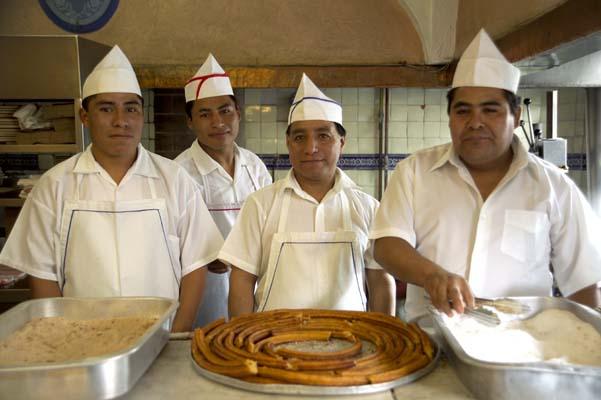 Churros at El Moro