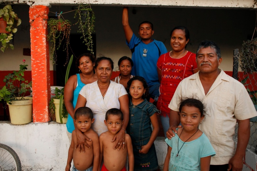 Antonieta Avila Salinas's Costa Chica Family