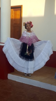 Young girl in Tlacotalpan