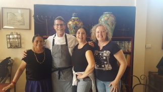 Raquel, Rick, Ana Elena, Carmen