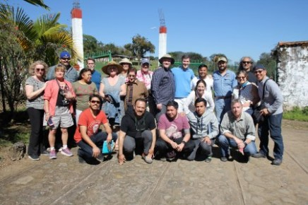 Our Veracruz group in La Finca coffee plantation